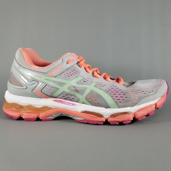1eb2aed2180f asics Shoes - Asics Gel-Kayano 22 Women's Athletic Shoes 10 Gray